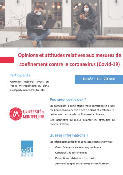 Enquete COVID 19